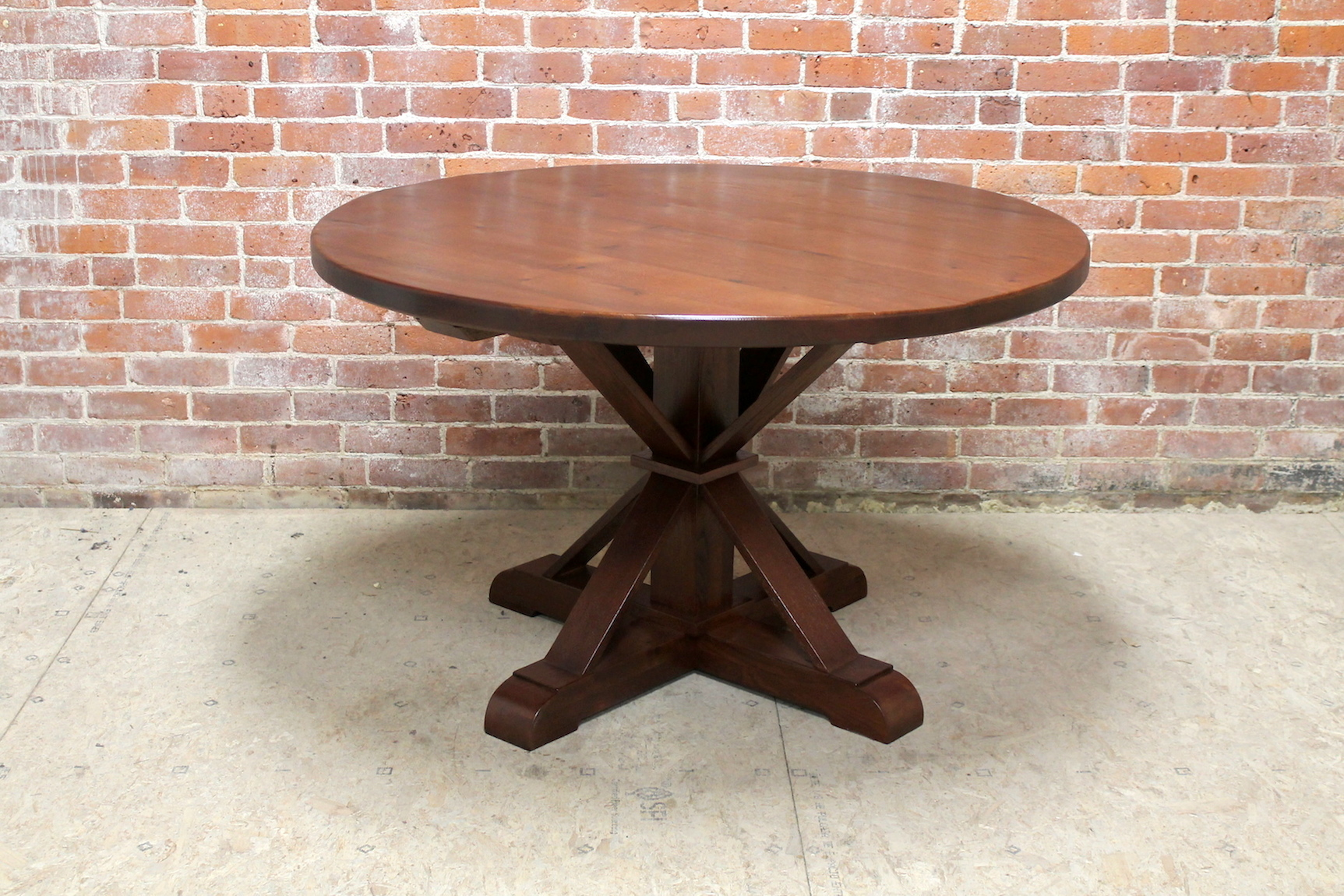 Round Dining Table BC Custom Furniture - 48 round oak dining table