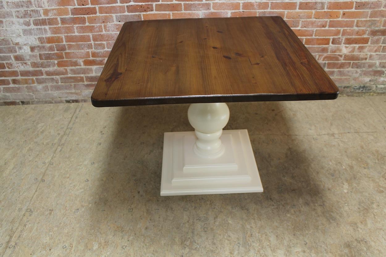 Square pedestal table bc custom furniture img92621582 watchthetrailerfo